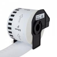 PRINTLINE kompatibilní etikety s Brother DK-22223, papírová role 50 x 30,48m