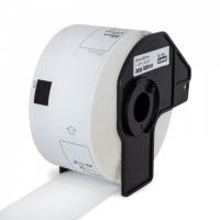 PRINTLINE kompatibilní s Brother DK-11208, papírové bílé, široké adresy, 38x90mm, 400 ks