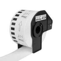PRINTLINE kompatibilní etikety s Brother DK-22225, bílá papírová role 38 x 30,48m