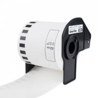 PRINTLINE kompatibilní etikety s Brother DK-22113, průsvitná filmová role, 62mm x 15,24m