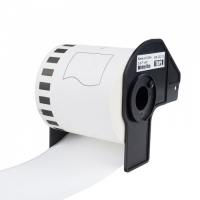 PRINTLINE kompatibilní etikety s Brother DK-22212, bílá filmová role, 62mm x 15,24m