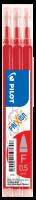 Náplň do přepisovatelného rolleru Pilot FriXion 2065 - 0,25 mm, plastová, červená, 3 ks