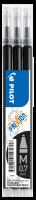 Náplň do přepisovatelného rolleru Pilot FriXion Ball 2067 - 0,35 mm, plastová, černá, 3 ks