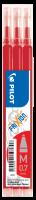 Náplň do přepisovatelného rolleru Pilot FriXion Ball 2067 - 0,35 mm, plastová, červená, 3 ks