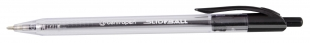 Gelový roller Centropen Slideball 2225 - jehlový hrot, 0,3 mm, černý