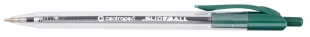 Gelový roller Centropen Slideball 2225 - jehlový hrot, 0,3 mm, zelená