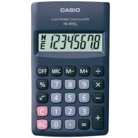 Kapesní kalkulačka Casio HL 815L BK - 1 řádek, 8 znaků, černá