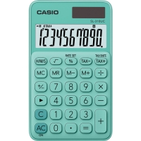 Stolní kalkulačka Casio SL 310UC GN - 1 řádek, 10 znaků, zelená