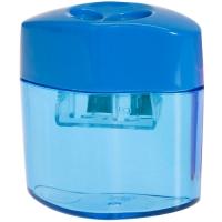 Ořezávátko ICO -  plastové, 2 otvory, modré