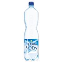 Neperlivá voda Dobrá voda - PET, 1,5 l, 6 ks