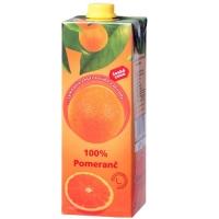 Džus Česká cena 100% - pomeranč, 1 l