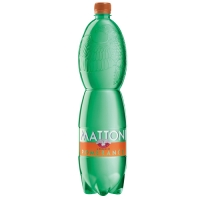 Perlivá voda Mattoni - pomeranč, PET, 1,5 l, 6 ks