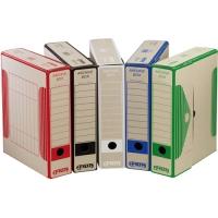 Archivační krabice Board Colour - 330x260x75 mm, karton, černá