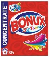 Prací prášek Bonux Color - barevné prádlo, 4 dávky