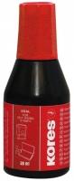 Razítková barva Kores - červená, 28 ml