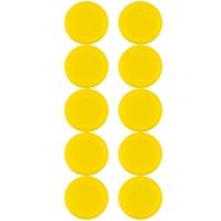 Plastové magnety Centropen 9795/10 - průměr 28 mm, žluté, 10 ks