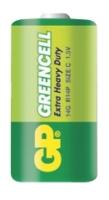 Zink-chloridové baterie GP Greencell 1,5 V - malé mono, R14, typ C