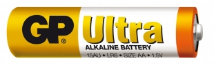 Alkalické baterie GP Ultra 1,5 V - tužka, LR6, typ AA