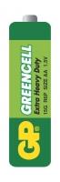Zink-chloridové baterie GP Greencell 1,5 V - tužka, R6, typ AA