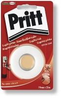 """Lepící páska Pritt """"Už nikdy nůžky"""" - odtrhávací, 19 mm x 25 m, transparentní"""