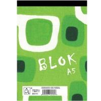 Šitý poznámkový blok A5 Eko - čistý, recyklovaný, 50 listů