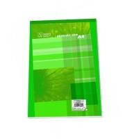 Šitý poznámkový blok A5 Eko - čtvereček, recyklovaný, 50 listů
