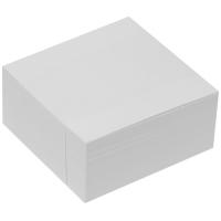 Poznámkový bloček kostka - nelepený, 9x9 cm, bílý, 400 lístků