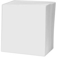 Papírová obálka na CD - bez okénka, 125x125 mm, bílá, 1 ks
