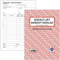 Dodací list-Daňový doklad PT 140- propisující, A5, 50 listů