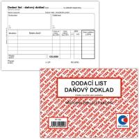 Dodací list-Daňový doklad PT 130 - propisující, A6, 50 listů