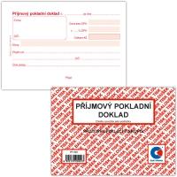 Příjmový pokladní doklad PT 020 - propisující, A6, 50 listů