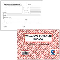 Výdajový pokladní doklad PT040 - propisující, A6, 50 listů