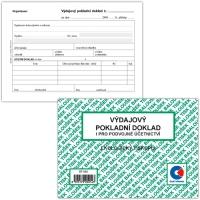 Výdajový pokladní doklad ET 050 - i podvojné účetnictví, A6, 50 listů