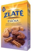 Zlaté Esíčka Opavia - sušenky se skořicí a kakaem, 220 g