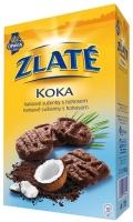 Zlaté Koka Opavia - kakaové sušenky s kokosem, 180 g
