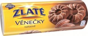 Zlaté věnečky Opavia - kakaové, 150 g