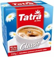 Smetana do kávy Tatra Classic - neslazená, 7,5 %, 250 g