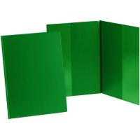 Psací desky s kapsami Sporo - A4, svislé, plastové, zelené