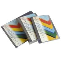 Přední strana kroužkové vazby Prestige - A3, 200 my, PVC, transparentní čiré, 100 ks