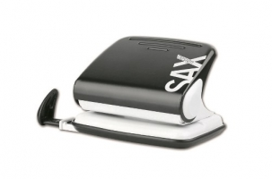 Děrovačka SAX Design 318 - 20 listů, kovová, černá