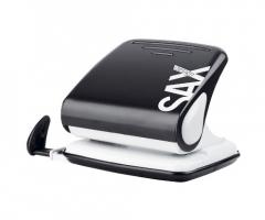 Děrovačka SAX Design 418 - 30 listů, kovová, černá
