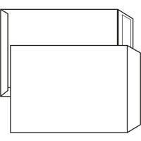 Poštovní taška B4 - bez okénka, samolepící, 353x250 mm, bílá, 250 ks