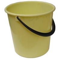 Plastový kbelík 12 l - s uchem, mix barev