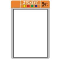 Samolepicí etikety Print - 210x297 mm, papírové, bílé, 100 archů