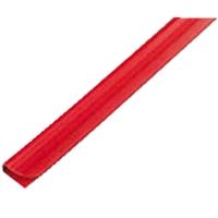 Násuvný hřbet Relido 0-3 - č. 4, plastový, červený, 50 ks