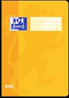 Školní sešit 440 Oxford - A4, čistý, 40 listů, žlutý
