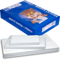 Kreslící karton A3 - 220 g, bílý, 200 listů