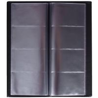 Vizitkář Hanibal- čtyřřadý, plastový, černý