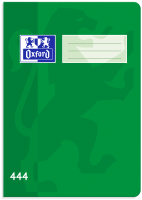 Školní sešit 444 Oxford - A4, linkovaný, 40 listů, zelený