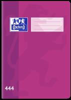 Školní sešit 444 Oxford - A4, linkovaný, 40 listů, fialový
